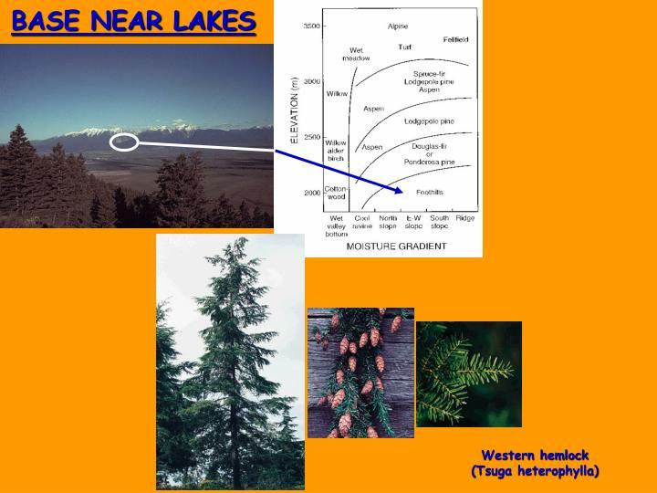 BASE NEAR LAKES