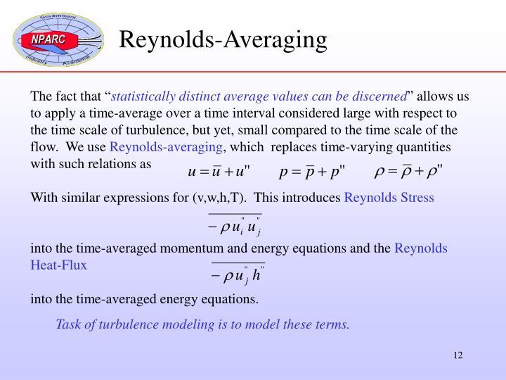 Reynolds-Averaging