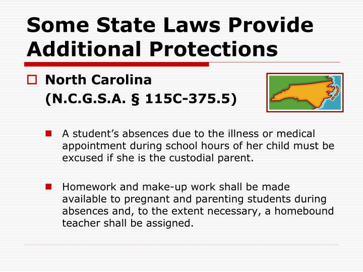 Some State Laws Provide