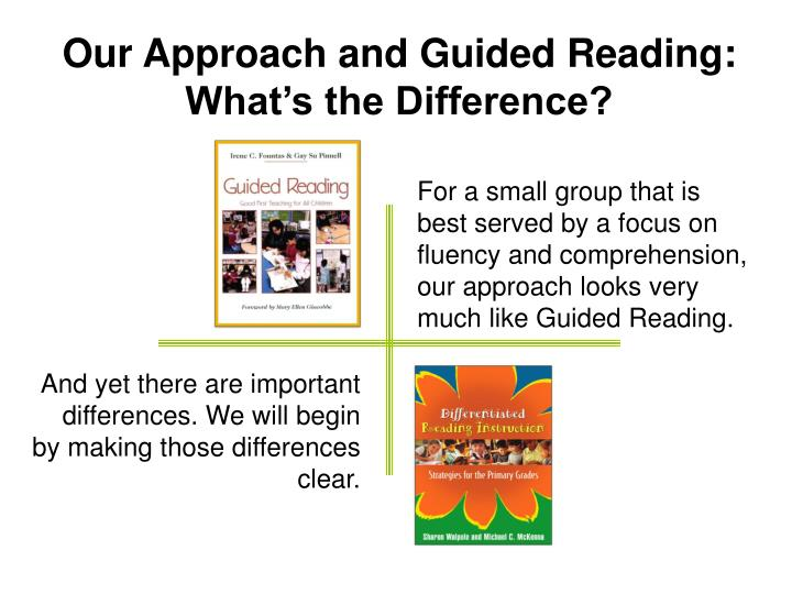 Our Approach and Guided Reading: