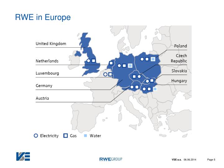 RWE in Europe