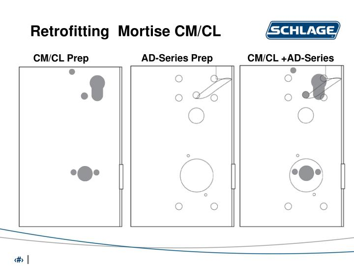 Retrofitting  Mortise CM/CL