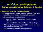env isi on level 4 future software for alternative solutions costing