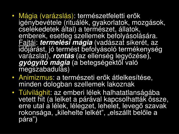Mágia (varázslás)