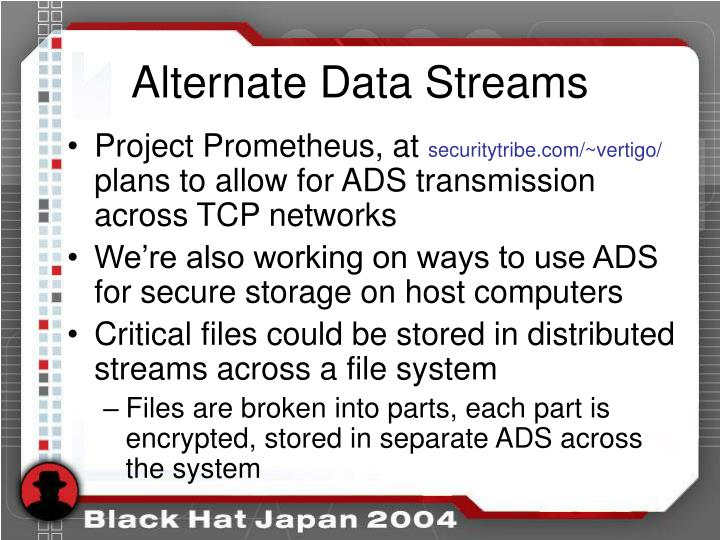Alternate Data Streams