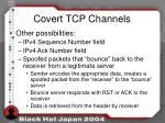 covert tcp channels