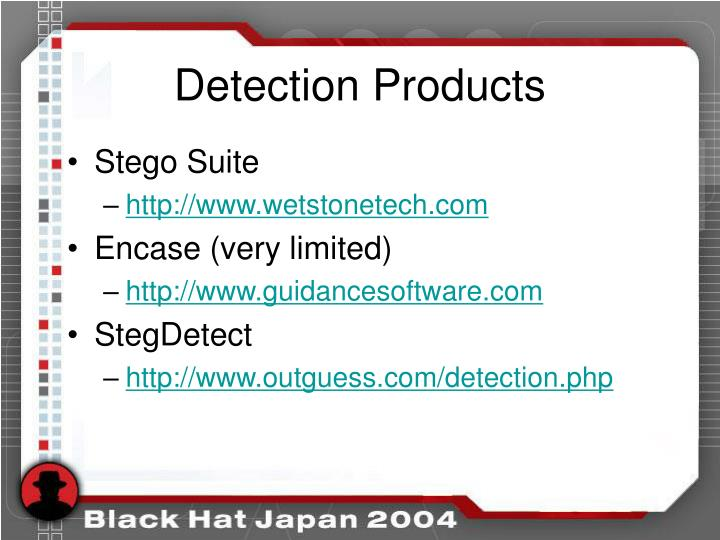Detection Products