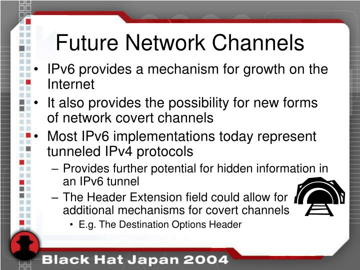 Future Network Channels