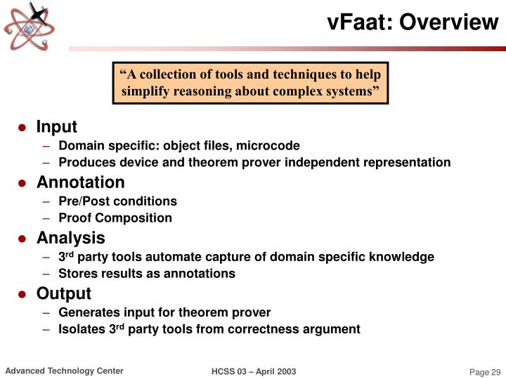 vFaat: Overview
