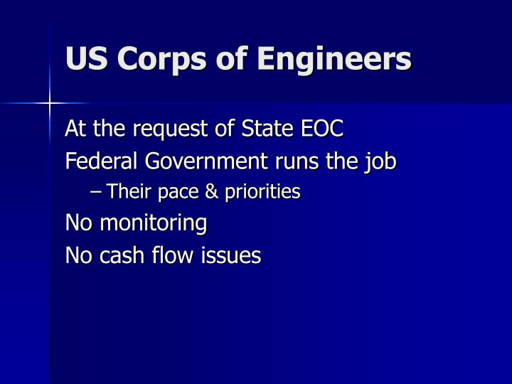 US Corps of Engineers
