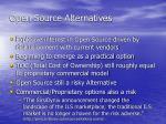 open source alternatives
