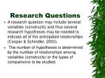 research questions1