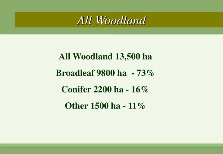 All Woodland