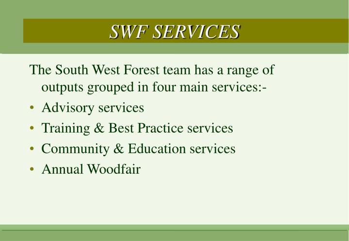 SWF SERVICES
