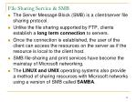 file sharing service smb