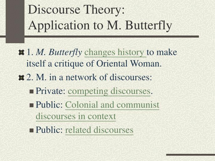 Discourse Theory: