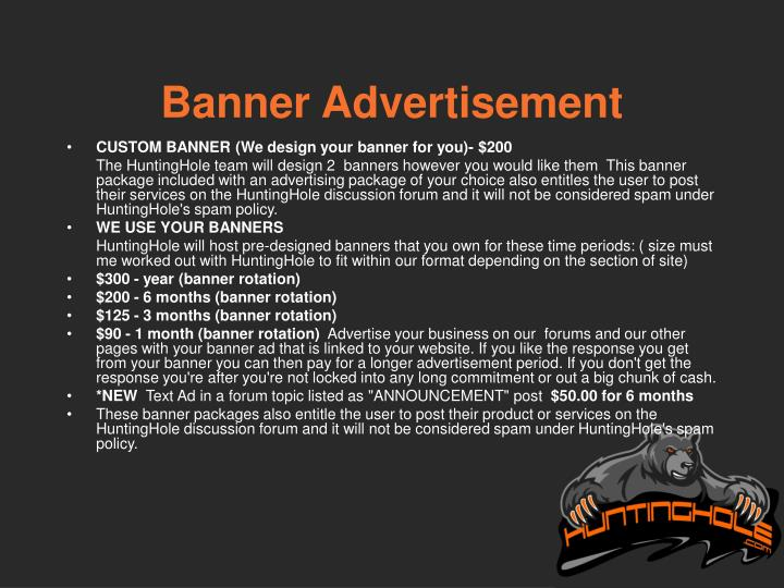 Banner Advertisement
