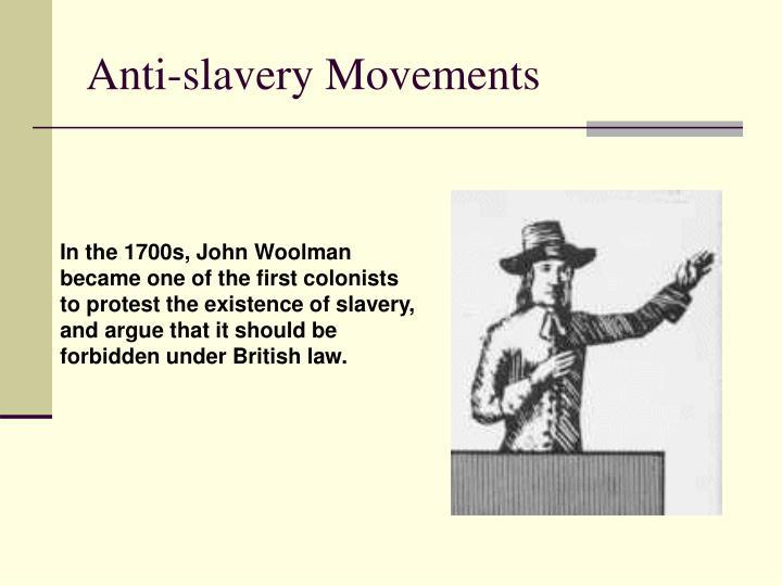 Anti-slavery Movements