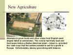 new agriculture
