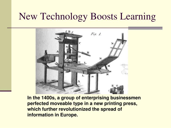 New Technology Boosts Learning