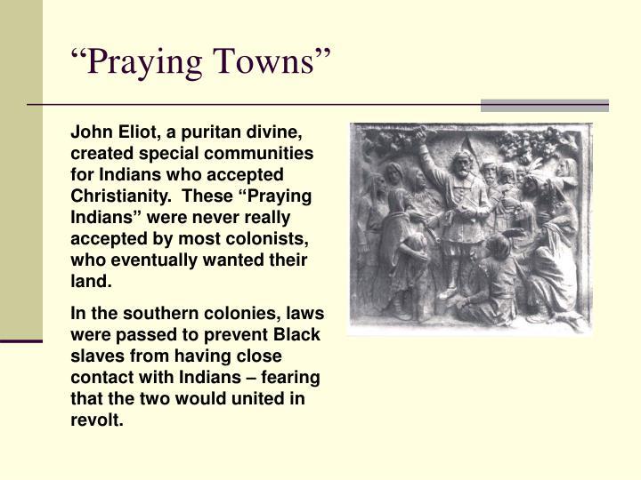 """""""Praying Towns"""""""