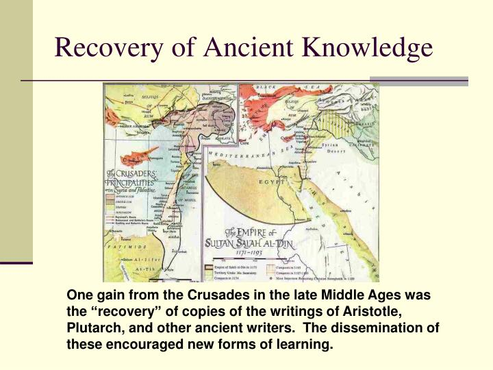 Recovery of Ancient Knowledge