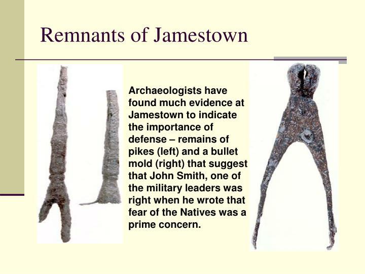 Remnants of Jamestown
