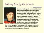 seeking asia by the atlantic