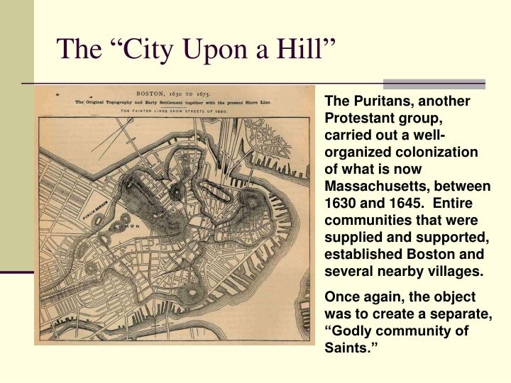 """The """"City Upon a Hill"""""""