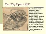 the city upon a hill