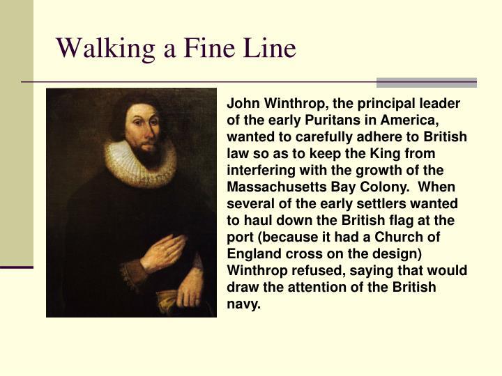 Walking a Fine Line