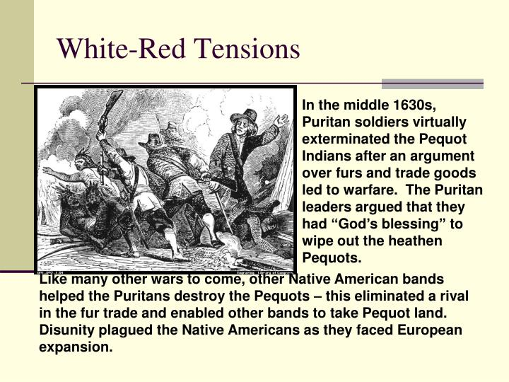 White-Red Tensions