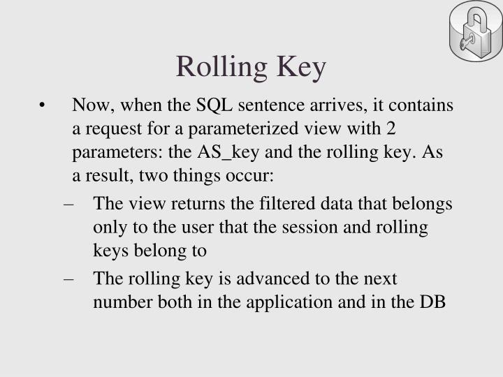 Rolling Key