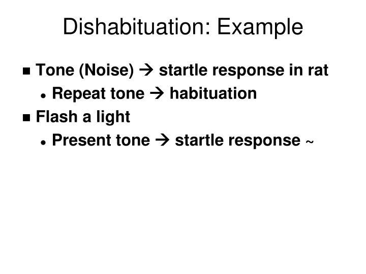 Dishabituation: Example