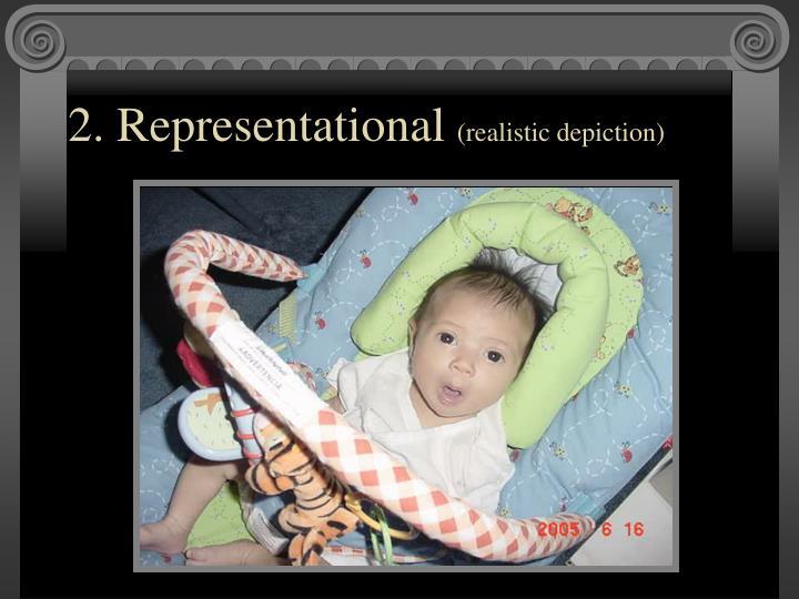 2. Representational