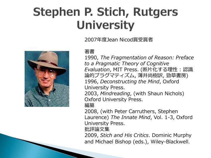 Stephen P.