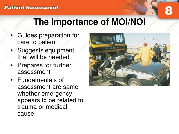 The Importance of MOI/NOI