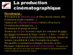 la production cin matographique2