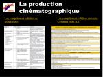 la production cin matographique3