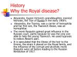 history why the royal disease2