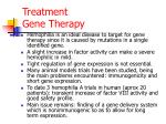treatment gene therapy