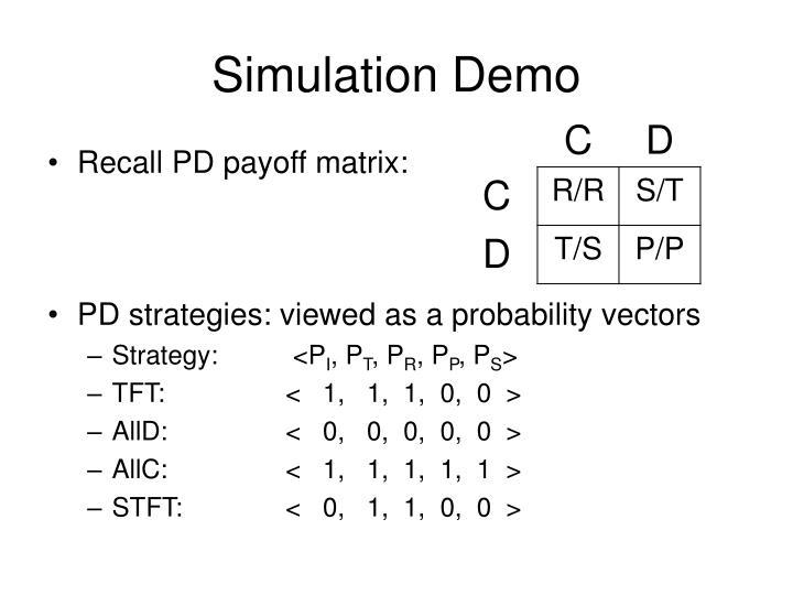 Simulation Demo