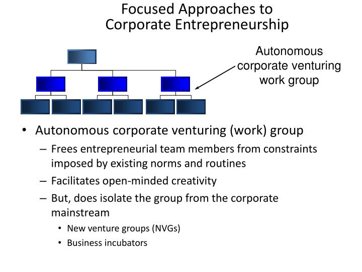 Focused Approaches to