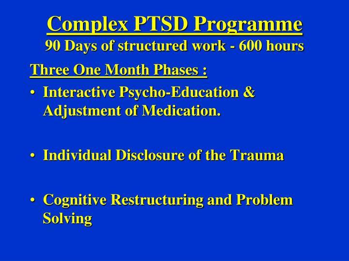 Complex PTSD Programme