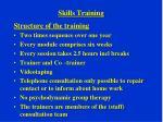 skills training1