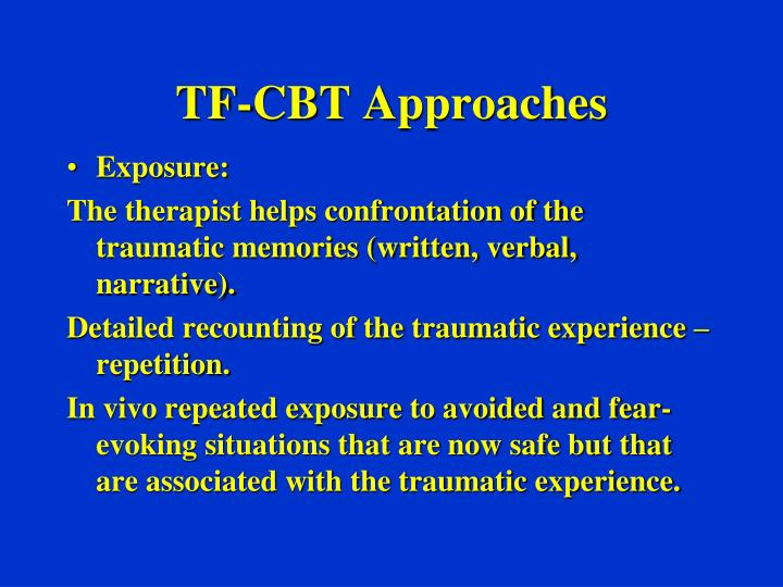 TF-CBT Approaches