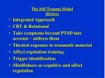 the self trauma model briere