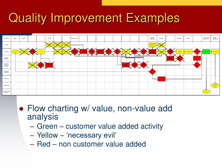 Quality Improvement Examples