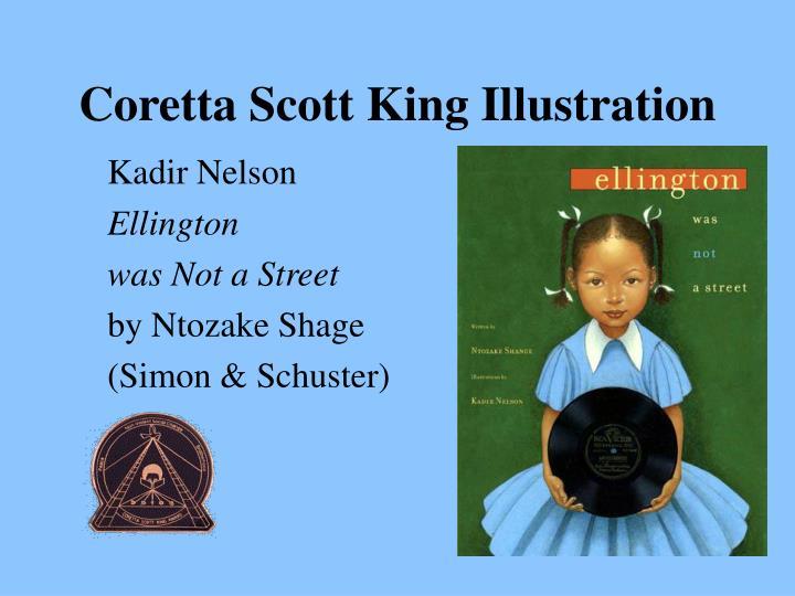 Coretta Scott King Illustration