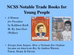 ncss notable trade books for young people